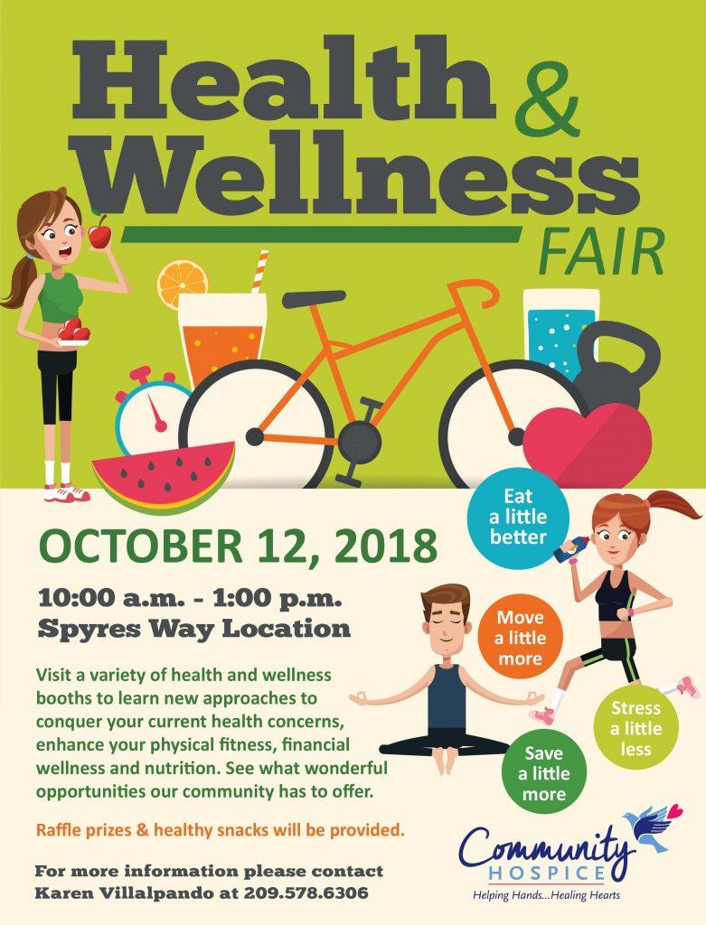 Community Hospice Health Wellness Fair